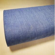 Melanža lina audums (gaišī zils ar balto)