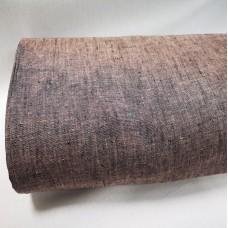 Melanža lina audums (gaišī rozā ar melno)
