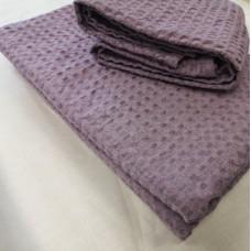 Lina dvielis lavandas krāsā 60*100