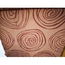 Dekoratīvais audums ar rakstu - printēts