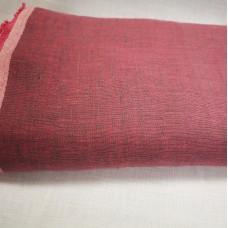 Melanža lina audums (rozā ar tumši pelēku)