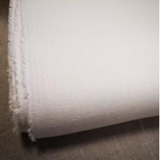 100 % lina biezs piena balts audums 245g/m2 nemikstināts