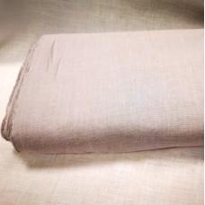 Mīkstināts vienkrāsains lina audums - pelēks ar nelielu violētu toni