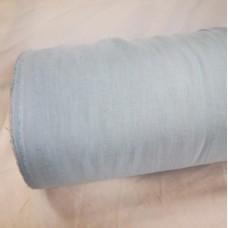 Platais lina audums mazgātais gaiši zilā krāsā