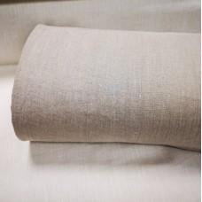 100 % lina pelēks audums mazgāts 295 g/m2