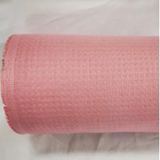 Vafeļaudums platais rozā krāsā